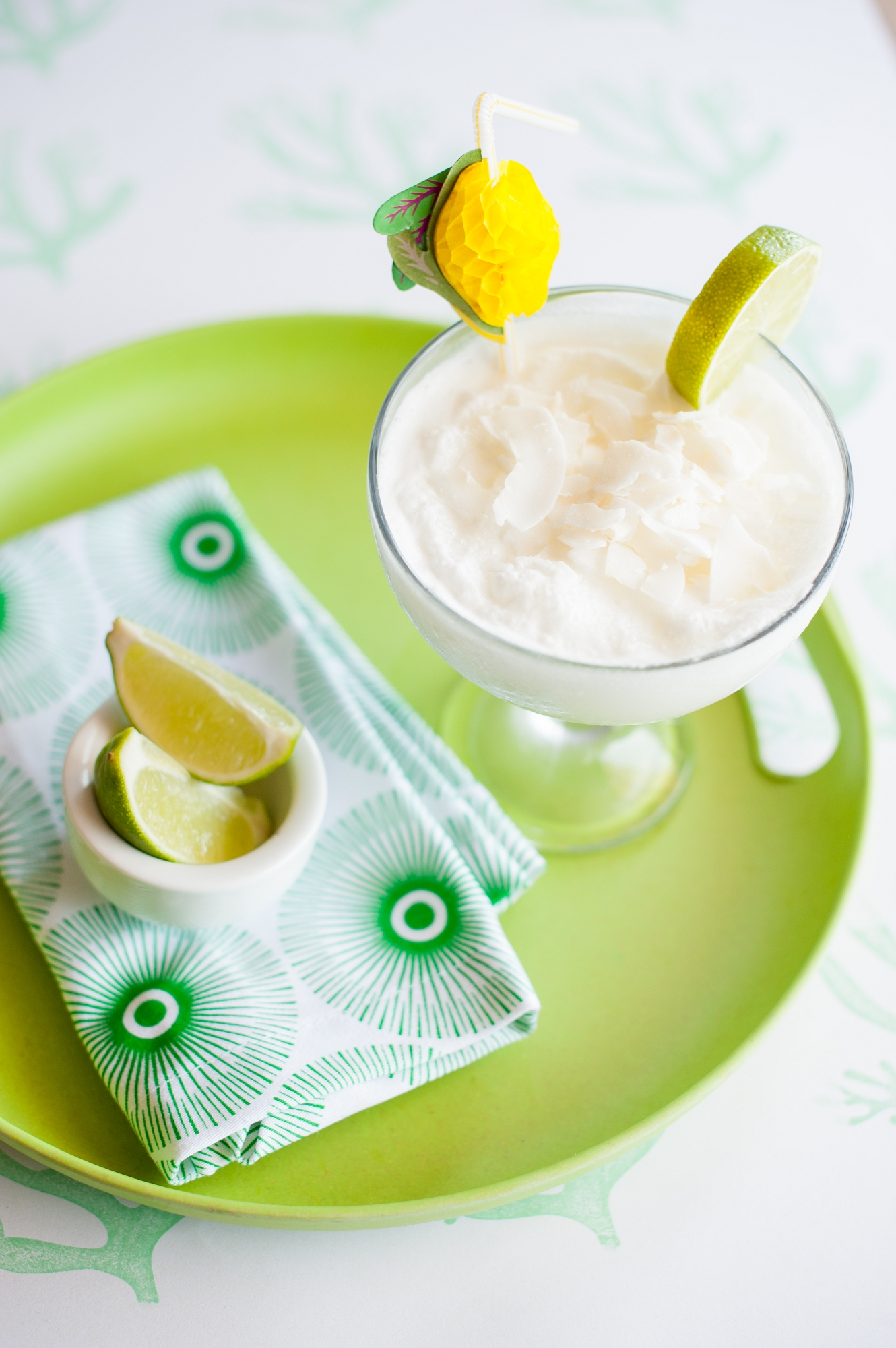 Lime Coconut Cocktail
